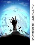 illustration of silhouette... | Shutterstock .eps vector #336402740