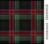 knitted plaid tartan pattern   Shutterstock .eps vector #336404018