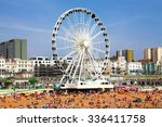 brighton  july 14   view the... | Shutterstock . vector #336411758