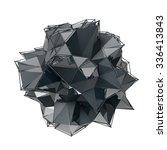 structure 3d render computer... | Shutterstock . vector #336413843