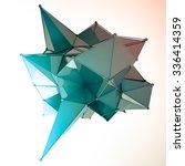 structure 3d render computer... | Shutterstock . vector #336414359