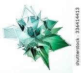 structure 3d render computer...   Shutterstock . vector #336414413