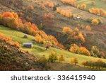 Idyllic Mountain Scenery In...
