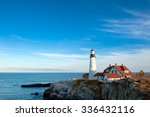 Portland Head Lighthouse On A...