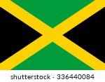 flag of jamaica   Shutterstock .eps vector #336440084