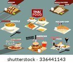 beautiful design of set of the... | Shutterstock .eps vector #336441143