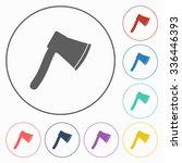 axe icon | Shutterstock .eps vector #336446393