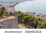 view of nafpaktos town from the ...   Shutterstock . vector #336481826