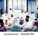business presentation... | Shutterstock . vector #336485783