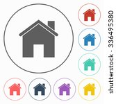 home icon | Shutterstock .eps vector #336495380