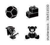 baby stuff vector icons | Shutterstock .eps vector #336513530