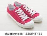 red shoe man | Shutterstock . vector #336545486