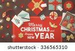 preparing for christmas banner  ...   Shutterstock .eps vector #336565310