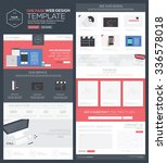 one page website template  ...