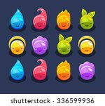 cute jelly with different...