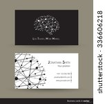 """technology business cards with """"... 