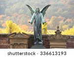Winged Angel Standing Guard In...