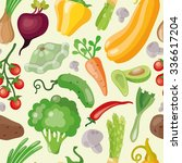 pattern of fresh and healthy... | Shutterstock .eps vector #336617204