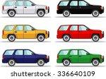detailed illustration of six... | Shutterstock .eps vector #336640109