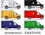 detailed illustration of six... | Shutterstock .eps vector #336652430