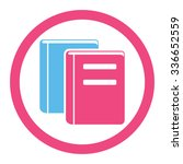 books vector icon. style is... | Shutterstock .eps vector #336652559
