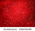 red christmas watercolor grunge ... | Shutterstock .eps vector #336656648