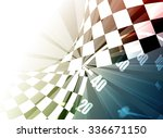 racing square background ... | Shutterstock .eps vector #336671150