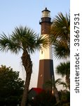 Tybee Island Lighthouse Throug...
