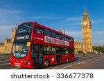 london  uk   july 08  big ben... | Shutterstock . vector #336677378