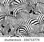 A Herd Of Zebras  Seamless...