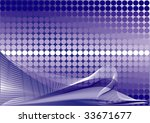 blue abstract background | Shutterstock . vector #33671677