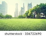 park in lujiazui financial... | Shutterstock . vector #336722690