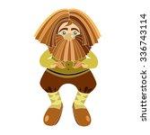 vector fairytale provincial old ... | Shutterstock .eps vector #336743114