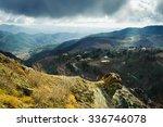 Troodos Mountains Landscape....