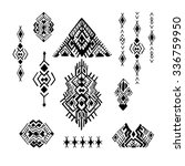 tribal ethnic collection  the... | Shutterstock .eps vector #336759950