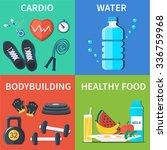 vector fitness gym design....   Shutterstock .eps vector #336759968