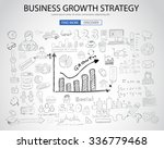 business growth strategy  with... | Shutterstock .eps vector #336779468