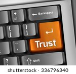 keyboard illustration with... | Shutterstock . vector #336796340