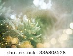 christmas lights | Shutterstock . vector #336806528