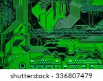 circuit board. electronic... | Shutterstock . vector #336807479