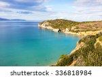 voulisma beach  mirabello bay ... | Shutterstock . vector #336818984