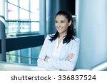 closeup portrait  young... | Shutterstock . vector #336837524
