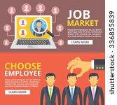 job market  choose employee... | Shutterstock . vector #336855839