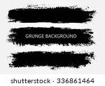 set of grunge banners.grunge... | Shutterstock .eps vector #336861464