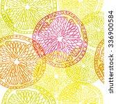 orange  lemon  lime  grapefruit ... | Shutterstock .eps vector #336900584