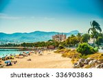 View Of The Beach Of Palma De...