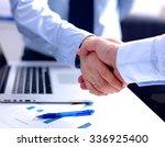 image of business partners... | Shutterstock . vector #336925400