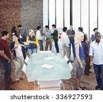 community business people... | Shutterstock . vector #336927593