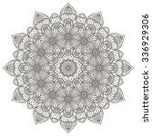 mandala. vintage decorative... | Shutterstock .eps vector #336929306