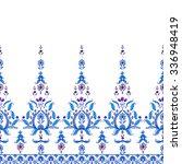 seamless paisley pattern.... | Shutterstock .eps vector #336948419